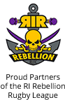 Proud Partners of the RI Rebellion Rugby League