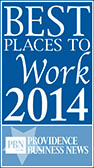 PBN Best places to work 2014 logo